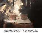 the ancient salt pits of bo... | Shutterstock . vector #651509236