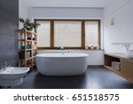 spacious and comfortable... | Shutterstock . vector #651518575