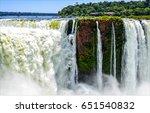 waterfall river landscape   Shutterstock . vector #651540832