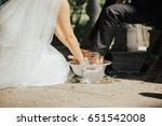 wedding at the columbus park... | Shutterstock . vector #651542008
