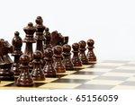 chess | Shutterstock . vector #65156059