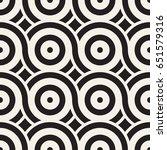 vector seamless geometric... | Shutterstock .eps vector #651579316