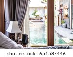 Interior Of Luxury Tropical...