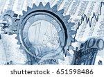 influence of financial markets... | Shutterstock . vector #651598486