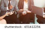 business people meeting for...   Shutterstock . vector #651612256