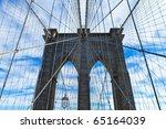 Brooklyn Bridge In Manhattan