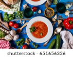 tasty appetizing classic... | Shutterstock . vector #651656326