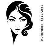 illustration of women short... | Shutterstock .eps vector #651672568