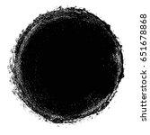 vector grunge circle. grunge...   Shutterstock .eps vector #651678868