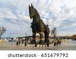 canakkale  turkey   october 31  ...   Shutterstock . vector #651679792