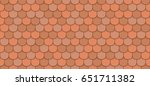 Orange Roof Tiles Seamless...