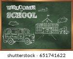 Welcome To School. A Blackboar...