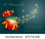 christmas vector background | Shutterstock .eps vector #65176168