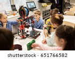 education  children  technology ... | Shutterstock . vector #651766582