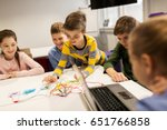 education  children  technology ... | Shutterstock . vector #651766858