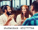 leisure  food and drinks ... | Shutterstock . vector #651777766