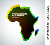 africa background | Shutterstock .eps vector #65178328