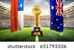 confederations cup. golden... | Shutterstock . vector #651793336