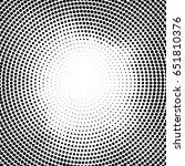 halftone vector dots.halftone... | Shutterstock .eps vector #651810376