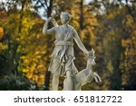 a statue of the mythological... | Shutterstock . vector #651812722