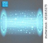 magic fantasy portal.... | Shutterstock .eps vector #651815275