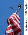 Looking Up At An American Flag...