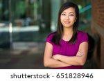 company staff worker employee... | Shutterstock . vector #651828946