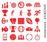 competition icons set. set of... | Shutterstock .eps vector #651837445