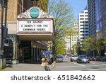 portland theater   arlene... | Shutterstock . vector #651842662