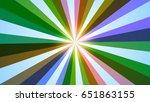 stylish colorful illustration...   Shutterstock . vector #651863155