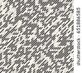 vector seamless black and white ... | Shutterstock .eps vector #651886585