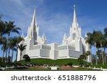 San Diego  Ca Mormon Temple