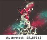 colorful modern vector design... | Shutterstock .eps vector #65189563