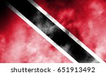 trinidad and tobago flag grunge ... | Shutterstock . vector #651913492