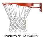 Basketball Hoop And Net...