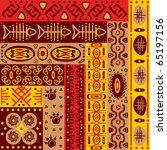 ethnic ornament | Shutterstock .eps vector #65197156