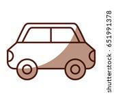 shadow car cartoon | Shutterstock .eps vector #651991378