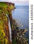 Kilt Rock Coastline Cliff And...