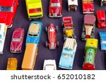 Old Toy Cars Displayed At A...