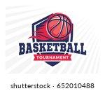 basketball tournament logo ...