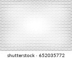 abstract halftone dotted... | Shutterstock .eps vector #652035772