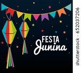 festa junina design | Shutterstock .eps vector #652037206