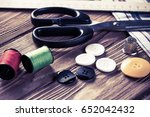 Bright Image Of Sewing Kit...