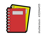 notebook icon image | Shutterstock .eps vector #652046455