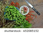 fresh fruits and herbs storage... | Shutterstock . vector #652085152