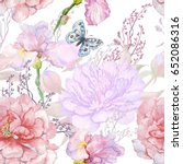 Seamless Pattern .irises...