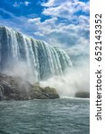 niagara falls | Shutterstock . vector #652143352