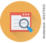 search article vector icon    Shutterstock .eps vector #652174312
