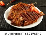 delicious asian fish fry... | Shutterstock . vector #652196842