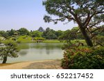 okayama castle from korakuen... | Shutterstock . vector #652217452